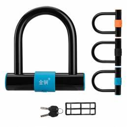 Fuerte seguridad en forma de U cerradura bicicleta antirrobo cerradura accesorios para bicicleta de carretera MTB Moto