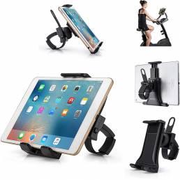 Soporte para tableta portátil ajustable universal para bicicleta de ciclismo de 3.5  - 12  para almo