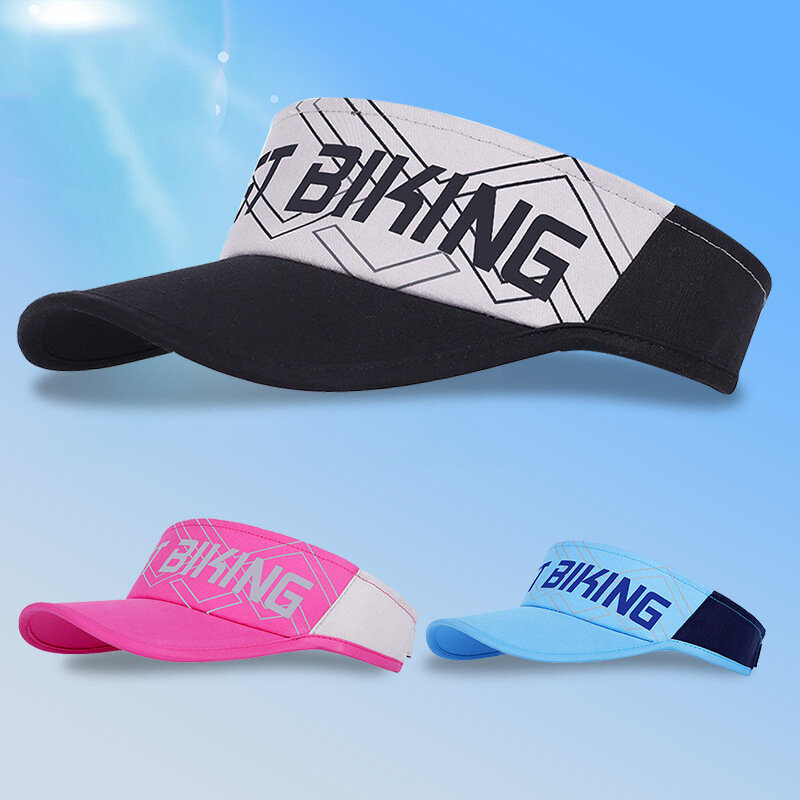 WEST BIKING Verano UV Protección Protector solar Parasol Parte superior vacía Sombrero Ligero y cómodo