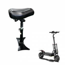 BOYUEDA 11 pulgadas asiento de scooter eléctrico ajustable amortiguador Soft esponja de cuero monopatín accesorios de sc