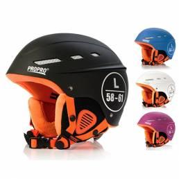 PROPRO Casco de esquí protector deportivo Ciclismo de invierno Forro polar cálido Casco de ciclismo de snowboard