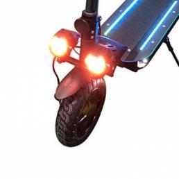 BIKIGHT 1 par de luces para scooter eléctrico con faros dobles