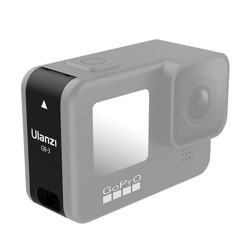 ULANZI Sports Cámara Batería Tapa lateral protectora Puerto USB recargable para Cámara 9 Cámara Accesorios