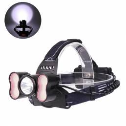 XANES®27092500LMT6+2 * SMD Light Smart Sensor Faro 18650 Batería Interfaz USB 4 modos Impe