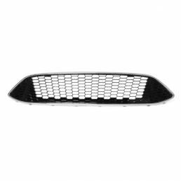 Para FORD FOCUS MK3 ZETEC S Sport Panel frontal de malla de panal parachoques central Panel de rejilla