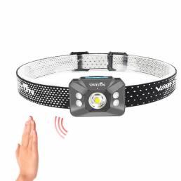 Warsun W07 500LM 4 modos 60 ° Ajustable 5ATM Impermeable Movimiento Sensor LED Faro de bicicleta de ciclismo