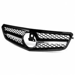 Brillante Negro C63 AMG Estilo Delantero Parrilla Rejilla Superior Para Mercedes Benz Clase C W204 C180 C200 C300 C350 2