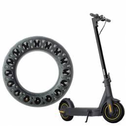 Neumático universal de 10 pulgadas para Ninebot MaxG30 Scooter eléctrico Absorción de golpes Anti-silp Neumático de cauc