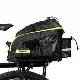 Portabicicletas Rhinowalk 17L Tronco trasero Bolsa Reflectante Impermeable Alforja Bolsa Bolso desmontable Bicicleta Cic