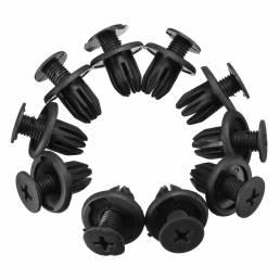 10pcs plástico de la reja del radiador clips fijadores para Land Rover Discovery 2 dyq100230
