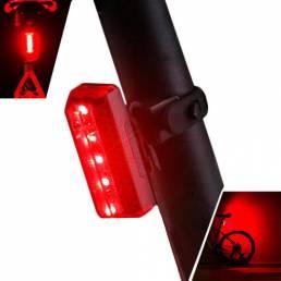 XANESTL105LED5modos luz de cola de bicicleta Impermeable carga de USB luz trasera de bicicleta reflectante