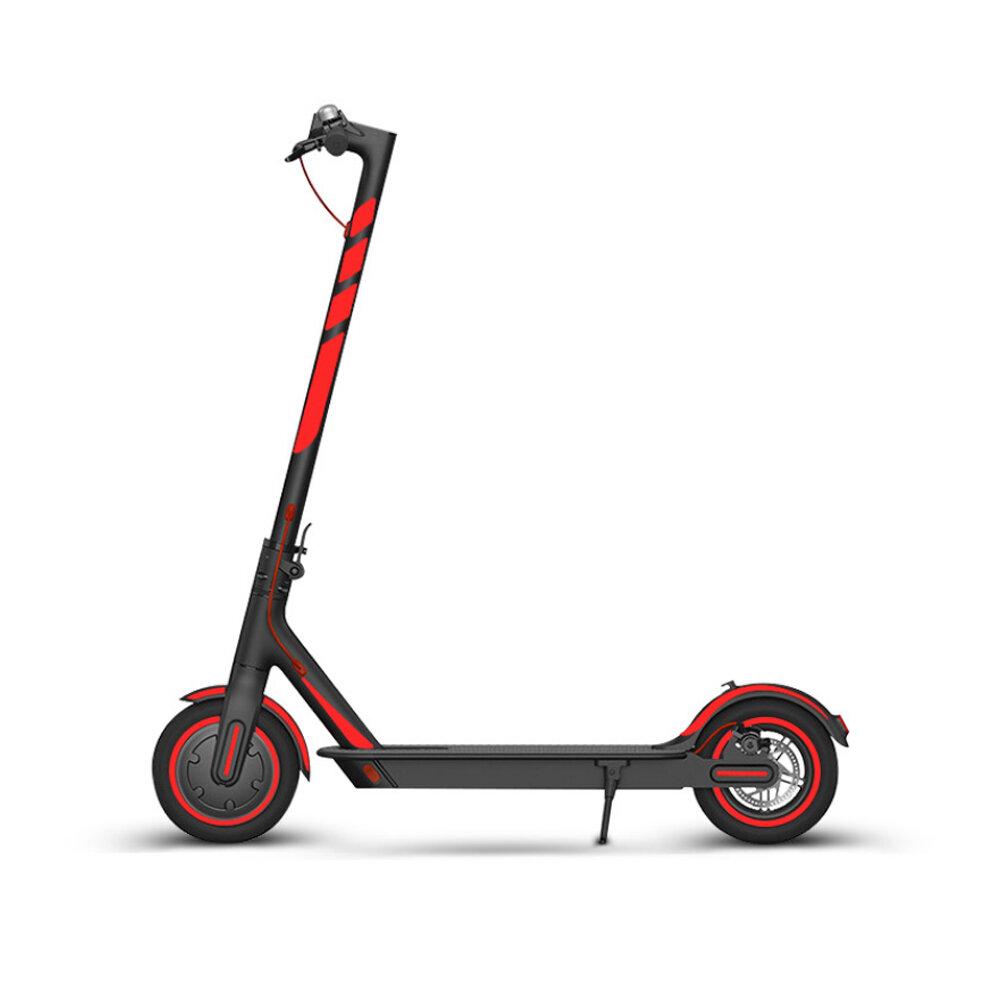 1 Juego de pegatinas reflectantes para scooter eléctrico