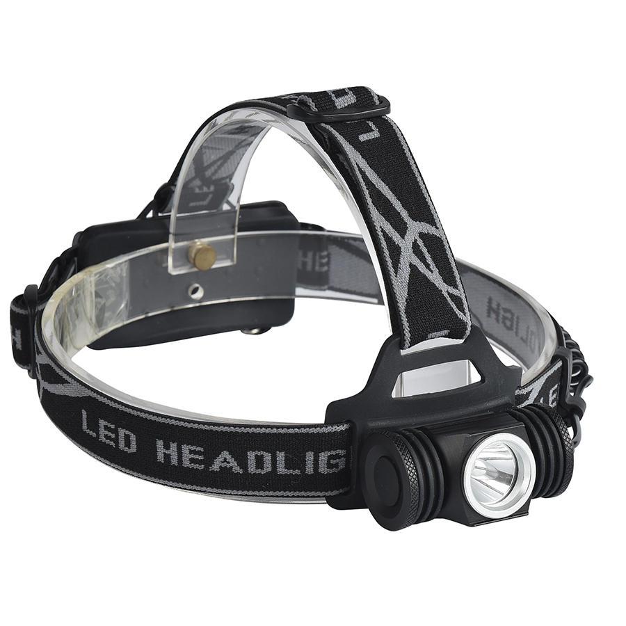 XANES K91A 800 LumensXPE LED Faro de bicicleta al aire libre Faro de deportes 4 modos Luz de cabeza ajustable