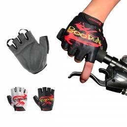 BOODUNHalf-FingerRidingGloveMenAnd Mujer Summer al aire libre Moto Riding ciclismo dedo protector Guantes