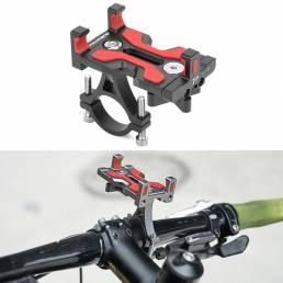 PROMEND Soporte para teléfono Soporte de montaje CNC Scooter eléctrico Moto Bicicleta eléctrica Bicicleta Ciclismo