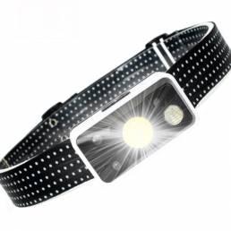 XANES® TM-G17 800LM LG LED Faros de inducción infrarrojos de 10M 5 modos Interruptores dobles ajustables a 45 ° 1200mAh
