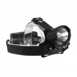 1800LM XHP70 LED Impermeable Faro con zoom de luz cámping Bicicleta Banco de energía 18650