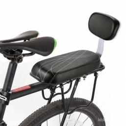 Asiento trasero para bicicleta de montaña Asiento para niños Soft Asiento de esponja con respaldo al aire libre Accesori