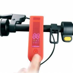 LED Pantalla Silicona funda para scooter eléctrico Max G30 Impermeable cubierta de panel resistente a la suciedad para s