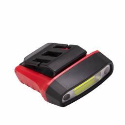 BIKIGHT Sensor inteligente a prueba de agua Luz fuerte girada 180 ° 5 modos de luz Carga USB Faro de bicicleta