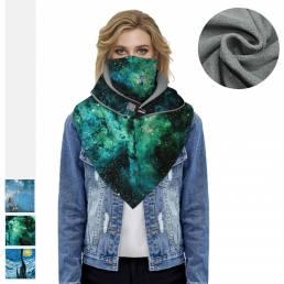 BIKIGHT Invierno Bandana Fleece Warm Face Mascara Cuello Bufandas Esquí térmico Polaina Senderismo Ciclismo Snowboard Ho