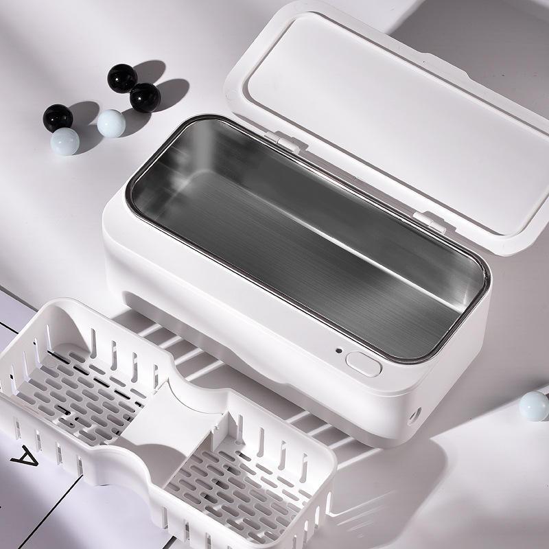 EraClean Mini limpiador ultrasónico limpiador de anteojos de reloj herramienta Limpiador ultrasónico de control intelige