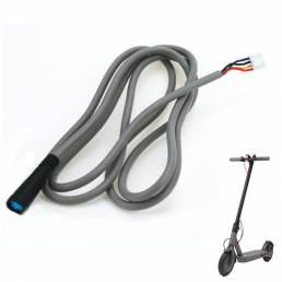 1.2m M365 Scooter eléctrico Adaptador de corriente Cargador Cable de placa bluetooth