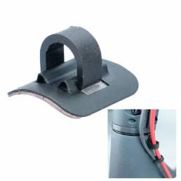 BIKIGHT Hebilla Línea Metal + ABS + PVC para Scooter Eléctrico Plegable M365 Pro