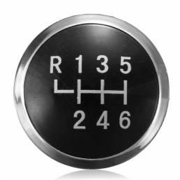 Reemplazo 6 gorra del emblema de la insignia de la perilla de la marcha de la velocidad para transportador vw t5 2003-20