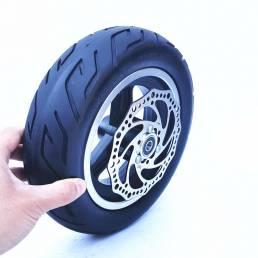 10 Inch 10x2.70-6.5 Juego de neumáticos de vacío para scooter eléctrico con freno de disco Scooter de neumáticos sólidos