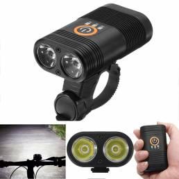 XANESXL181000LM2xXPE LED 5 modos Indicador inteligente de alimentación 1800mAh Recargable