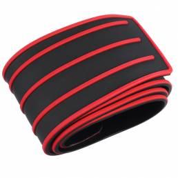 Protector del protector del cuerpo del alféizar del parachoques trasero del coche Goma Placa Tira de la cubierta del aju