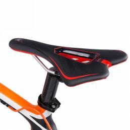 WHEEL UP LX16100 PVC Impermeable Soft Cojín de esponja Ciclismo Asiento de bicicleta al aire libre Sillín de bicicleta d