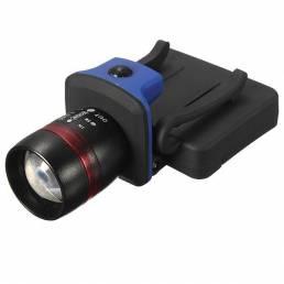 Senderismo pesca Q5 LED con Zoom Linterna Antorcha Luz Faro de Cap