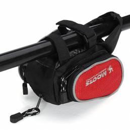 Bolsa de la bici de montaña de la capacidad extensible bolsa delantera de la bicicleta a prueba de agua