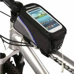 Roswheel Bicicleta Bicicleta Marco Tubo delantero Bolsa para 4.2 Inch Teléfono celular