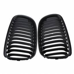 A Set Black Coche Rejillas de parrilla delantera mate para BMW E90 LCT 3-Serise