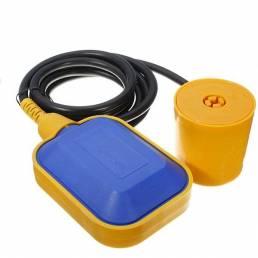 Flotador coche interruptor sensor del control del nivel de agua del fluido líquido