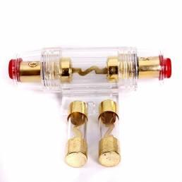 Audio del coche portafusibles reinstala con 2 piezas 40 fusibles de amplificadores