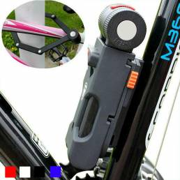 ANTUSI X5 bicicleta plegable cerradura Anti robo Anti-cizalla hidráulica bicicleta de 6 pliegues