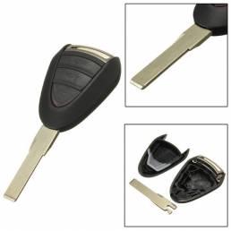 Coche de bloqueo remoto cuchilla caso cáscara de la llave FOB para porsche cayenne 996