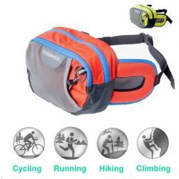 Fanny bag ROSWHEEL ocio paquete de la cintura de la correa del bolso paquete de deporte al aire libre en bicicleta acamp
