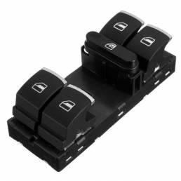 Coche Interruptores cromados aptos para Volkswagen CC Tiguan Passat B6 GOLF MK5 MK6 JETTA MK5 MK6