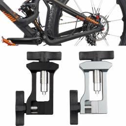 Reparación de bicicletas herramientas Tubería Conector Cabeza de engrase Ayuda de inserción de la aguja de engrase de la