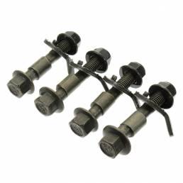 4 unids Cuatro Rueda Alineación Camber Bolt 10.9 Excéntrico Tornillo Verde 12mm Coche Reparación herramienta
