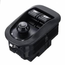Interruptor del elevalunas eléctrico Botón de espejo eléctrico principal para PEUGEOT 206306 2002-2016