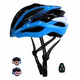 Casco de bicicleta inteligente BIKIGHT inalámbrico Control remoto con luz de señal de giro luz trasera transpirable segu