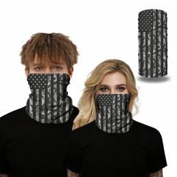 Pasamontañas multiusos Bandana Transpirable UV Protección Cuello Cara Mascara Ciclismo Senderismo