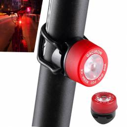 GACIRONW05LEDLuztraserade la bicicleta 3 modos IPX5 Impermeable Bicicleta Advertencia linterna trasera Lámpara