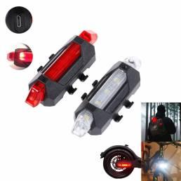 Luz de advertencia BIKIGHT multiusos LED para al aire libre / linterna de seguridad para scooter
